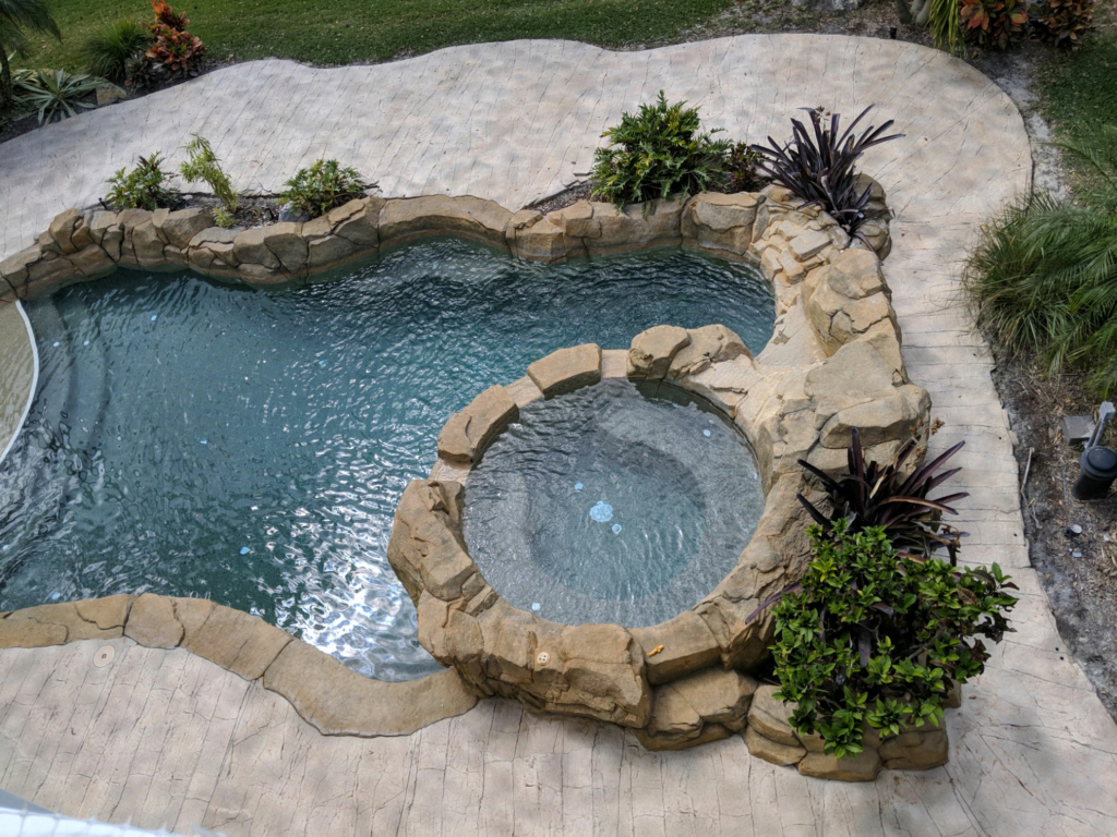 Concrete Pool Decks & Lanais Enhanced